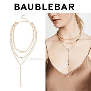 BaubleBar Jewelry - BaubleBar Aimee Layered Y Chain Necklace